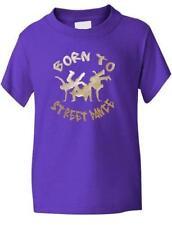 Vêtements violette en polyester pour fille de 6 à 7 ans