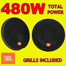 Jbl 270w total 2way 6.5 Pulgadas 16,5 Cm coche door/shelf Altavoces Coaxiales Con Rejas