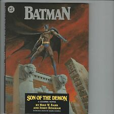 Batman Son Of The Demon DC Comics Graphic Novel Hard Cover 1st Print NM J85