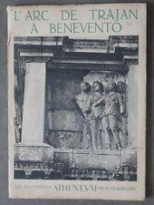 """L'ARC DE TRAJAN A BENEVENTO - """"Les Documents Athenaeum photographiques"""" - 1943"""