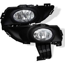 2004-2006 Mazda 3 4Door Sedan Fog Lights Bumper Lamps w/Switch/Harness/Wiring