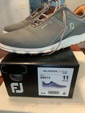 FootJoy Men's Superlites XP Golf Shoes Gray 11 N US