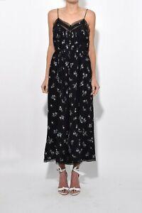 Zimmermann Silk Pintuck Floral Wide Leg Jumpsuit Size 0