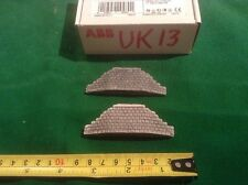 Z scale, Z gauge  stone bridge abbuttments - *single track * painted