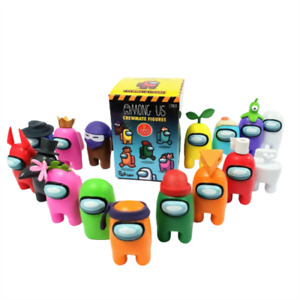 Official & Fully Licensed Among Us Crewmate Figures Blind Box Characters 1 Pack