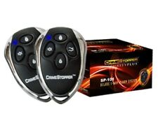 Crimestopper Universal Car Alarm Security System With Keyless Remote Entry