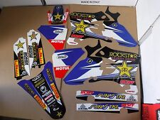 FLU TEAM  ROCKSTAR  GRAPHICS YAMAHA YZ250F YZ450F YZF250 YZF450 2003 2004  2005