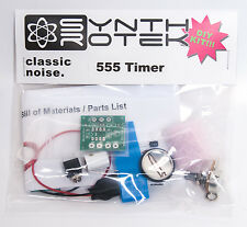 "Synthrotek 555 Timer Oscillator Kit Circuit Bending Synthesizer 1/4"" Jacks"