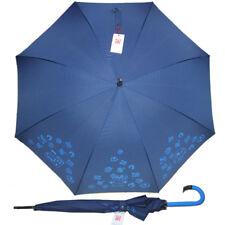 Braccialini ombrello grande automatico azzurro blu