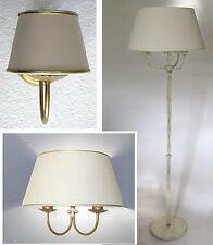 Serie con giglio applique lampada a parete a una luce a due luci e piantana