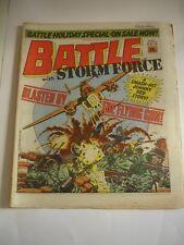 BATTLE With STORMFORCE  comic 4th April 1987