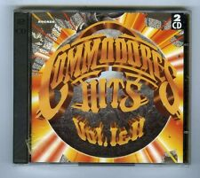 COMMODORES 2 CDs SET (NEW) HITS (VOL I & II)