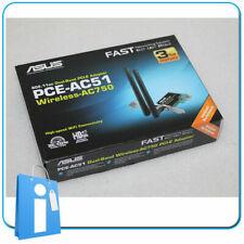 Tarjeta Red PCIe 1x Wifi Wireless ASUS PCE-AC51 Dual Band pci express