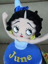 """Nwt Sugar Loaf Betty Boop Birthday Bash June 12"""" Cupcake Doll Plush Stuffed"""