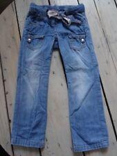 Pantalon décontracté en jeans bleu avec ceinture NKY Taille 5 ans bon état