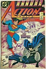 ACTION COMICS ANNUAL#1 VF/NM 1987 BYRNE/ARTHUR ADAMS DC COMICS