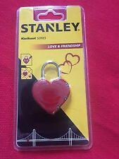 Stanley forma de corazón 3 DÍGITOS Traba s742-065