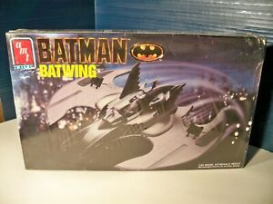 AMT ERTL Batman Batwing Model new in sealed box 1990