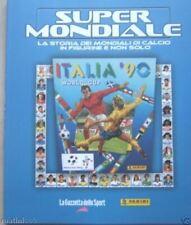 album PANINI SUPERMONDIALE NUOVO-COMPLETO/FULL ITALIA 90+1 DVD FIFA WORLD CUP