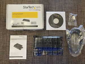 StarTech 8 Port Wall and DIN Rail Mountable Industrial USB to RS232 Serial Hub
