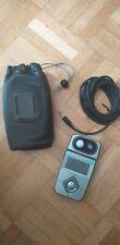 Flashmètre JTL parfait état avec accessoires, notice EN + FR et pile fournie