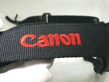 Black Red Camera Shoulder Neck Strap CANON CANVAS SLR sturdy Free Shipping USA
