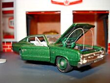 1966 66 DODGE CHARGER 318 POLY LIMITED EDITION MUSCLE CAR 1/64 M2 SLEEPER RARE