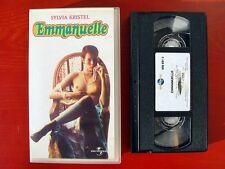 VHS.09) EMMANUELLE - UNIVERSAL (SYLVIA KRISTEL)
