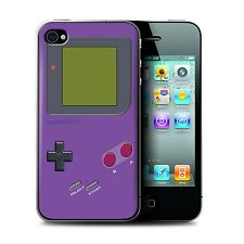 STUFF4 Phone Case for Apple iPhone Smartphone/Video Gamer/Gameboy/Cover
