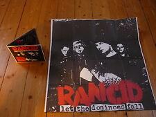 Rancid-Let the Dominoes cas package numérique/épitaphe records CD 2009