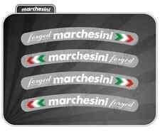 4 Adesivi Marchesini FORGED Ducati monster 996,998,1098,1199,DIAVEL,HYPERMOTARD
