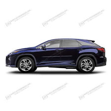For: LEXUS RX350; PAINTED Body Side Mouldings Moldings W Chrome Insert 2016-2017