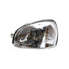For Santa Fe 01-03, Driver Side Headlight, Clear Lens