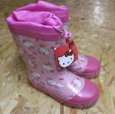 Hello Kitty Gummistiefel, Größe 30, rosa, NEU