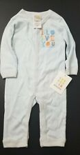 Absorba Infant Coverall Playset One Piece Size 6-9 Mos I Love You Graphic