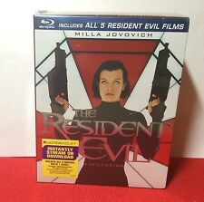 The Resident Evil 5-Disc Collection Set (Blu-ray) - Brand New (Sealed)- Free S&H
