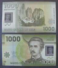 Chile 1000 Pesos, 2012 P-161 polymer Unc