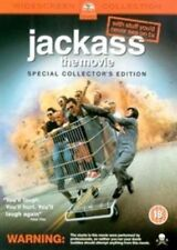 Jackass The Movie DVD 2003 by Johnny Knoxville Bam Margera Chris Pontius Da