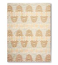6' x 9' Hand knotted Transitional Oriental area rug 100% Wool Ikat 6X9 Aqua