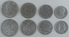 Italien / Italy 20c, 50c, 1Lira, 2Lira KMS 1939-1943 XF-AU