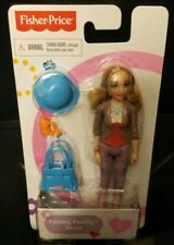 Fisher Price Loving Family Dollhouse Mom With Blonde Hair NIP
