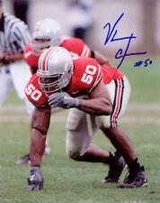 Vernon Gholston All American College Football SIGNED 8x10 Photo COA!