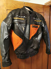 RICHA CANNONBALL Woman  Racing Sport Motorcycle Leather Jacket Size 12