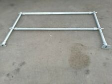 Pipe Clamp Handrail System - Safety Barriers Allen Key fixings Scaffold pipes