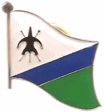 Lesotho Old Country Flag Bike Motorcycle Hat Cap lapel Pin