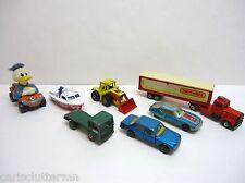 Vintage Lesney Matchbox Superfast & Disney Lot Citreon SM Blue Mercedes 450 SEL