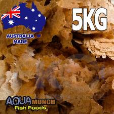 Aquamunch Brine (Artemia) Shrimp Fish Food Flakes GRAIN FREE Flake Feed 5KG