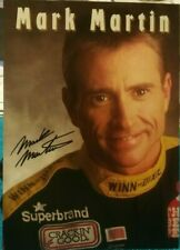 "MARK MARTIN #60 WINN DIXIE RACING POSTCARD 5X7"" HANDOUT CARD--"
