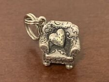 Mary Engelbreit Sterling Silver Chair With Heart Charm Free Shipping!