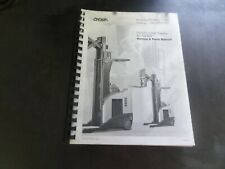 Crown Lift Trucks RR/RD 5200 Series Forklift AC Traction Service & Parts Manual